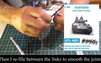 How to assemble the friulmodel tracks I.