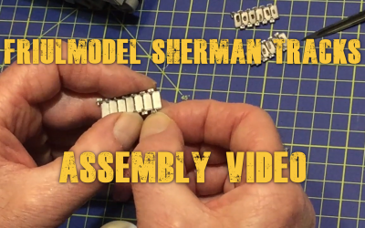 How to assemble Friulmodel Sherman tracks