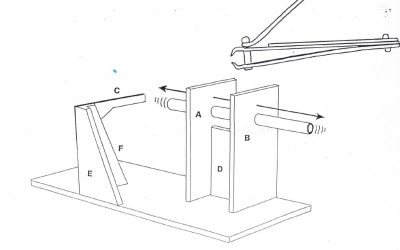 Track pin cutting tool plan